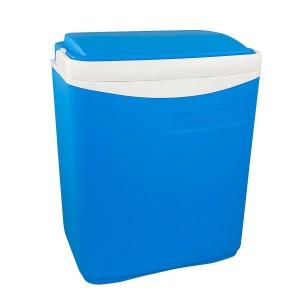 Die komfortable und qualitative Kühlbox ohne Strom ist die: Campingaz Kühlbox Icetime inkl. Ergonomischen Griff